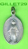 MÉDAILLE RELIGIEUSE - O MARIA SINE LABE CONCEPTA ORA PRO NOBIS QUI AD TE CONFUGIMUS -(1830) - - Religion & Esotérisme