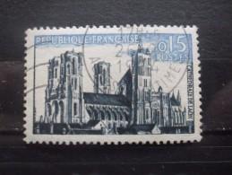 France N°1235 CATHEDRALE De LAON Oblitéré - Eglises Et Cathédrales