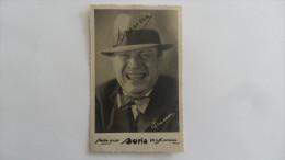 (Café-Concert, Humour....vers 1920 - Carte Postale + Autographe) - DRANEM (photo D'art BORIS....voir Scans) - Humour