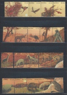 Guyana 1990 MNH  Prehistoric Animals Dinosaurs - Prehistorics