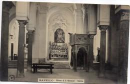 CAMPANIA-SALERNO-RAVELLO CHIESA DI S.GIOVANNI VEDUTA INTERNO N.P.G. - Italia