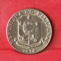 PHILIPPINES  10  SENTIMOS  1972   KM# 198  -    (Nº11309) - Philippinen
