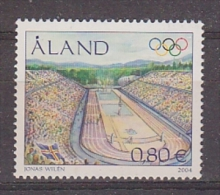 Aland 2004 OlympicGames 1v ** Mnh (19956) @ Face - Aland