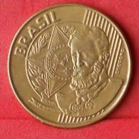 BRAZIL  25  CENTAVOS  2002   KM# 650  -    (Nº11324) - Brésil