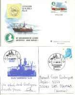 ANTARTIDA - SOBRE ENTERO POSTAL BASE JUAN CARLOS / HESPERIDES OFICINA POSTAL - Polar Ships & Icebreakers