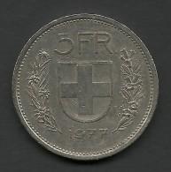 5 F. 1977, Switzerland. - Switzerland
