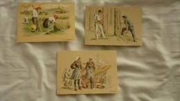 3 Cpa Barré & Dayez N° 572 De 1943 45 Et 46 Signé BD Serie Croquis Regionaux Illustrateur Bonnefoy - Altre Illustrazioni