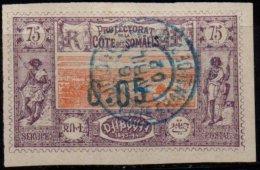 COTE DES SOMALIS - 0.05 Sur 75 C. Oblitéré TTB - Côte Française Des Somalis (1894-1967)