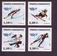 2014 TURKEY SOCHI WINTER OLYMPICS MNH ** - Nuevos