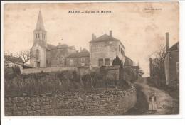 71 - ALUZE - Eglise Et Mairie - Francia
