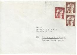"Germany (Berlin) 1970  Gustav Heinemann (o) Mi.361 X "" +363 - [5] Berlin"