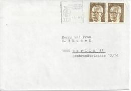 Germany (Berlin) 1972  Gustav Heinemann (o) Mi.427 Paare - [5] Berlin