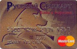 Bankcard Of Russia RUSSIAN STANDARD GOLD  ( MINT) - Geldkarten (Ablauf Min. 10 Jahre)