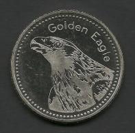 Liechtenstein, Golden Eagle, Souvenir Jeton. - Tokens & Medals
