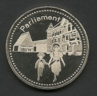 Liechtenstein, Parliament, Souvenir Jeton. - Autres