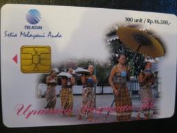 Télécarte A Puce D´indonésie - Indonesia