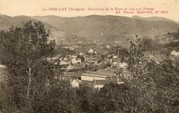 CPA - Le THILLOT (88 )- Vue Sur La Gare Et Le Village De Fresse Au Loin - Le Thillot