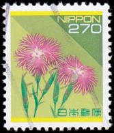 Japan Scott #2165, 270y multicolored (1992) Wild Pink, Used