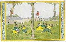 651/ Oude Getekende Kaart, Rie Cramer, Versjes Van Vroeger, In Een Groen Knollenland, 1948 - 1900-1949