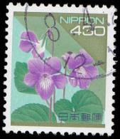 Japan Scott #2167, 430y multicolored (1992) Violet, Used