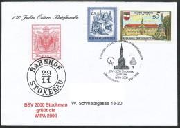 ÖSTERREICH -Stempel - WIPA 2000 Stockerau - Poststempel - Freistempel
