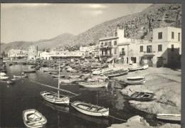 MONDELLO PALERMO ILPORTO  ANIMATA  FOTOGRAFICA ANNI 50  ITALY - Palermo
