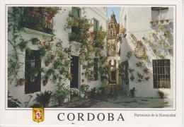 (AKU100) CORDOBA. UNESCO. PATRIMONIO DE LA HUMANIDAD. CALLEJA Y PLAZA DE LAS FLORES - Córdoba