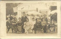 44  LE  POULIGUEN       LA  POTINIERE  1915  -20 ? >>>> ( Drapeau  U S A   FIN DE LA GUERRE  14  18  ?  ) - Le Pouliguen