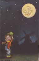 Illustrateur Italien COLOMBO - La Lune - Colombo, E.