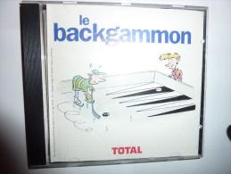 Jeu Backgammon Publicit� TOTAL