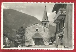 FVS-11 Collonges Près De Saint-Maurice, L'Eglise Et La Coopérative. Cachet Militaire En 1952 - VS Valais