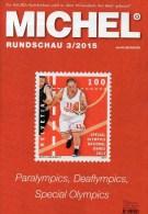 Briefmarken Rundschau MICHEL 3/2015 Neu 6€ New Stamp Of The World Catalogue And Magacine Of Germany ISBN 9 783954 025503 - Allemand