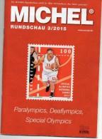 Briefmarken Rundschau MICHEL 3/2015 Neu 6€ New Stamp Of The World Catalogue And Magacine Of Germany ISBN 9 783954 025503 - Ohne Zuordnung