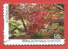 AUSTRALIA USATO - 2013 - GIARDINI BOTANICI - Botanic Garden Mount Tomah NSW - 60 C - Michel AU 3940 - AUTOADESIVO - Usati