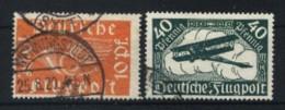 Germania Reich Usati Di Qualità: P. A.  N. 1-2. - Luchtpost