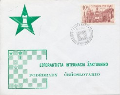I9652 - Czechoslovakia (1967) Podebrady: II. International Chess Tournament Esperantists - Esperanto