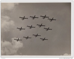 ^ 3 PATTUGLIA AEROPORTO GUIDONIA AERONAUTICA AVIAZIONE SQUADRA AEREA AEREI FOTO FOTOGRAFIA 34 - War, Military