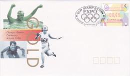 Australia 1996 Olympic 96 Frama FDC - FDC