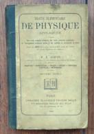 Traite élémentaire De Physique - M.E. Gripon - 1886 - Classique Eugène - 1801-1900