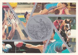 Italy 1998 Prepaid Postcard Olympic Silver Unused - Unclassified