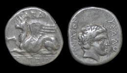 Thracia Abdera AR Stater Magistrate Dyonysades - Greek