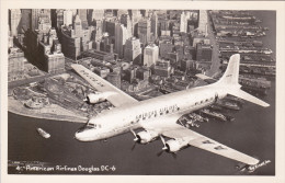 AVIATION - American Airlines - Douglas DC-6 Survolant New-York - 1946-....: Moderne