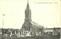 SAINT-MARTIN-au-LAËRT - L'Eglise                            -- J. I. - France