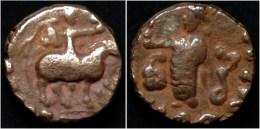 Indo-Scythian Kingdom Azes Billon Drachm - Indisch