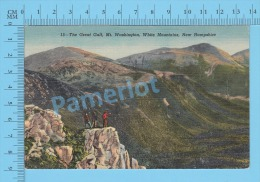 #340 Canada ( Canadian Stamp With Cover Hampton N.H. 1954 Hapmton Beach) Linen Postcard Recto/Verso - 1952-.... Règne D'Elizabeth II