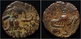 Alchon Huns Hephtalite Toramana II AE Stater - Oriental