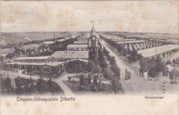 1906 D. Reich, MILITARIA, EF. BESSERE Ansichts-Karte TRUPPEN�BUNGSLATZ D�beritz. gelaufen. MK