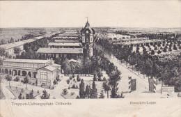 1916 D. Reich, MILITARIA, BESSERE Ansichts-Karte TRUPPEN�BUNGSLATZ D�beritz. gelaufen. MK