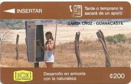 Costa Rica - Santa Cruz, 2CORA, 200Colon, 1993, 12.500ex, Used