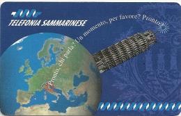 San Marino - Telefonia Sanmarinese - Pronto, Chi Parla (Pisa), 40.000ex, 2000L, Urmet Mint - Saint-Marin
